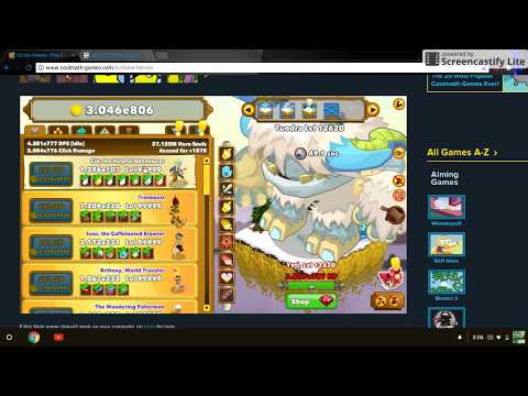 the best import code on clicker heroes (link in the
