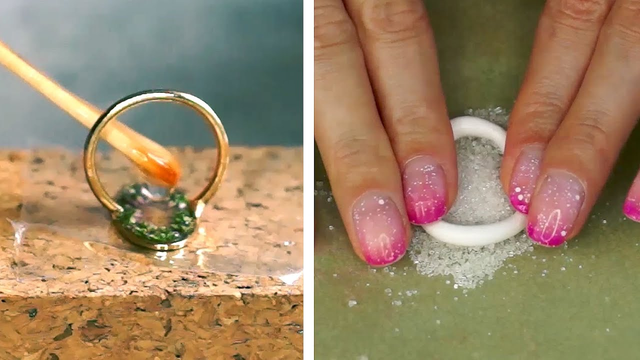 AMAZING DIY IDEAS FROM EPOXY RESIN Cement, Epoxy, Plastic, Dry flowers, polymer clay
