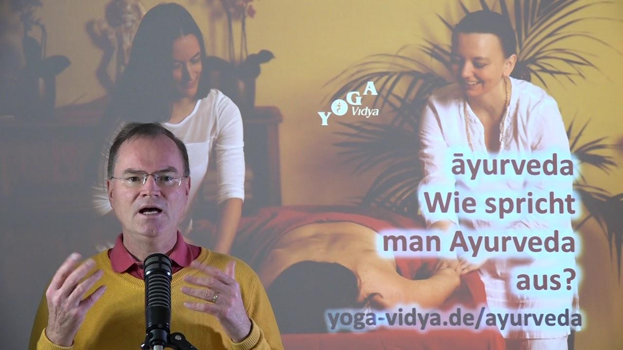 Wie Spricht Man Ayurveda Aus