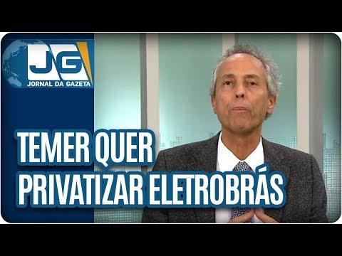 Bob Fernandes/Temer quer privatizar Eletrobrás. E ratos tomam conta das ruas de São Paulo