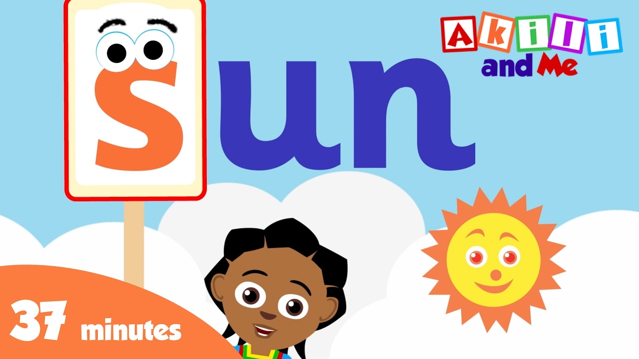 Letters are Fun! - Sing and learn Letters with Akili and Me! - African Cartoons