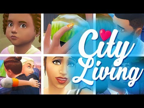 THE JOURNEY   THE SIMS 4 // CITY LIVING SLIDESHOW