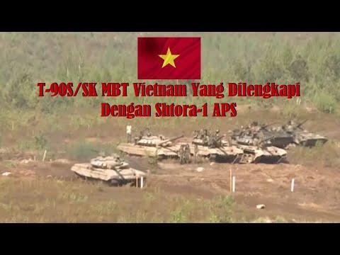 Vietnam Semakin Berjaya Setelah Borong T-90 SK Dengan Shtora-1 APS Terbaik