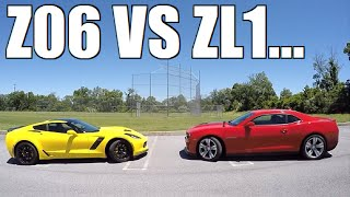 Which is FASTER? My Z06, My Hellcat, or a 670HP ZL1?