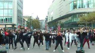 K-Pop Random Dance Game 2018 Frankfurt, Germany (Day 1 - outside)