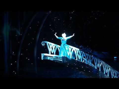 Let it go   From Frozen musical at the Hyperion theatre in DCA
