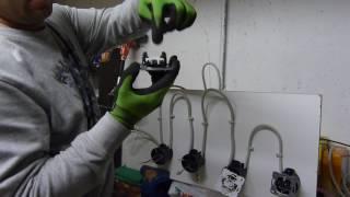 Электрика в Германии. Соединение в подрозетниках .проходных выключателей.