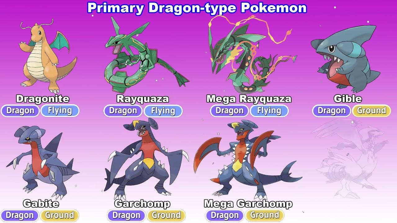 Drachen Pokemon