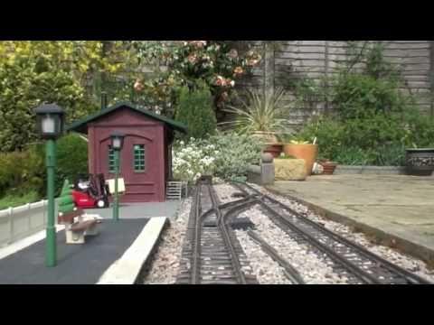 Sandwell Valley Railway – A G Scale Garden Railway