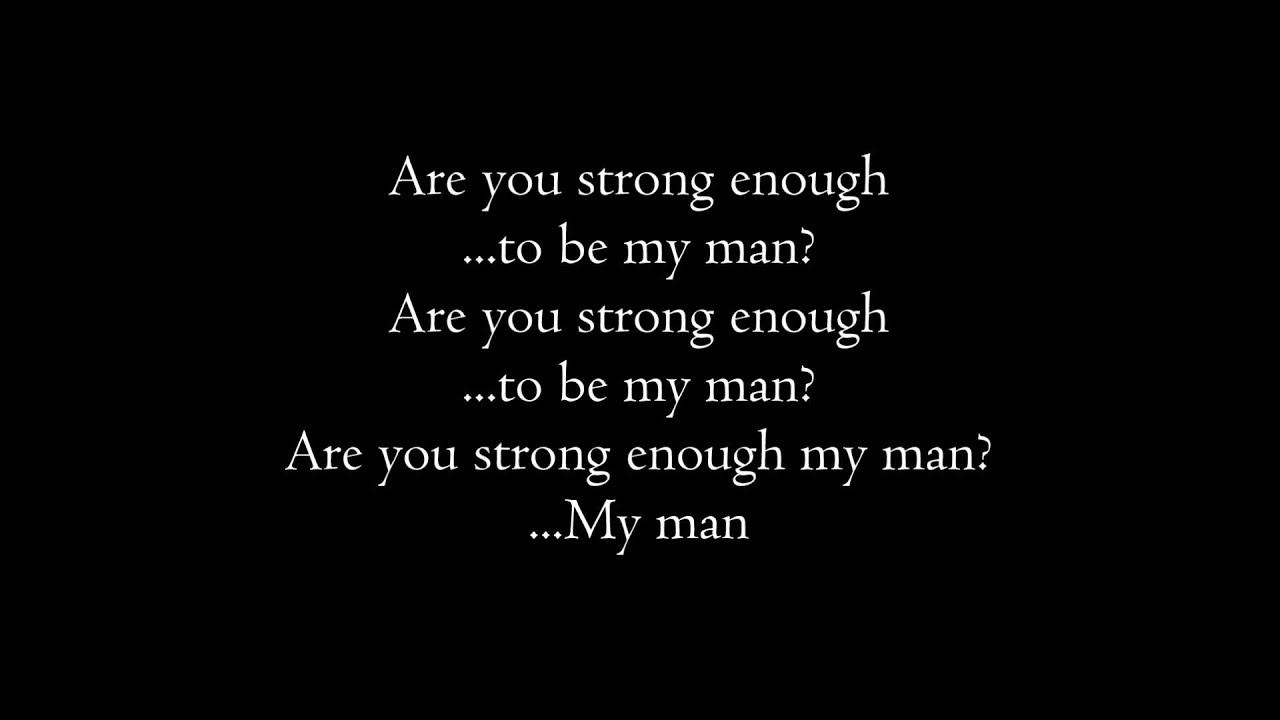 SHERYL CROW - STRONG ENOUGH LYRICS
