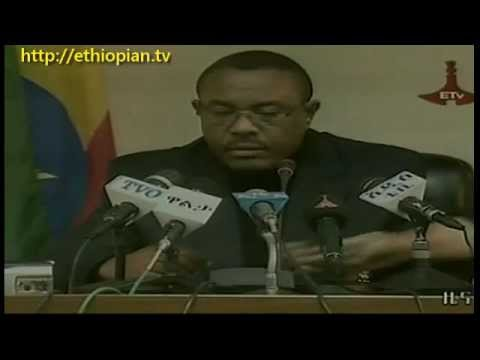 Ethiopians mourn death of PM Meles Zenawi - YouTube