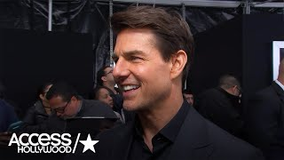 Tom Cruise On Doing Wild Stunts With Jake Johnson In 'The Mummy' | Access Hollywood