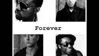 Drake ft Kanye West, Lil Wayne & Eminem - Forever [Acapella]