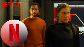 'Escaping the Star's Gravity' Scene | Another Life | NX on Netflix