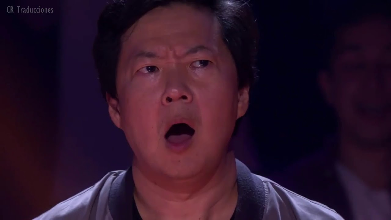 Drop the mic (sub. español): Shaquille O'Neal vs Ken Jeong