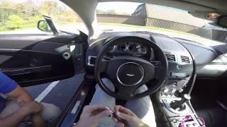 Mr. R. Drives Doug DeMuro's Former Aston