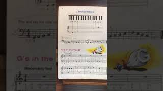 Gs In the bag from Alfred's basic piano library'- book 1B