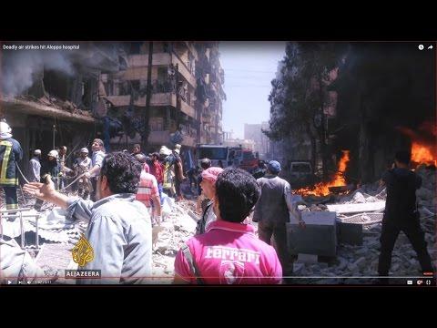 Deadly air strikes hit Aleppo hospital