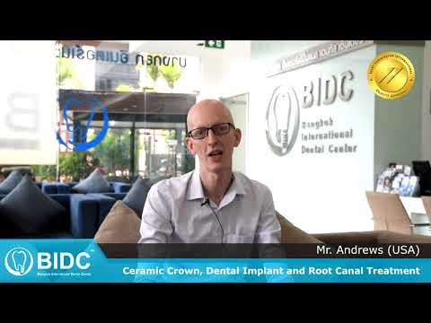 "American Professor ""Dental phobia but best experience ever!"" Dental Implants Crowns #BIDC 121"