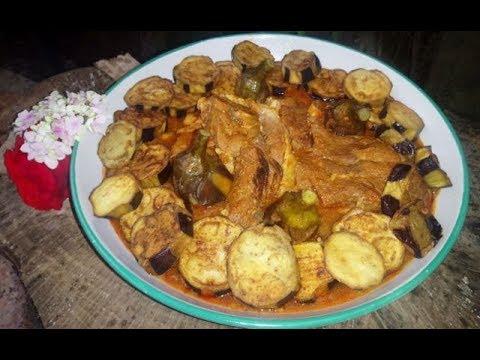 برانية-/مدربل/طاجين-باذنجان-tadjine-aubergine-/mdarbel/branya