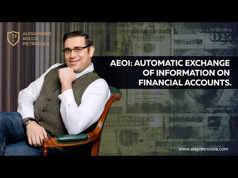 AEOI: Automatic Exchange of Information on Financial Accounts.