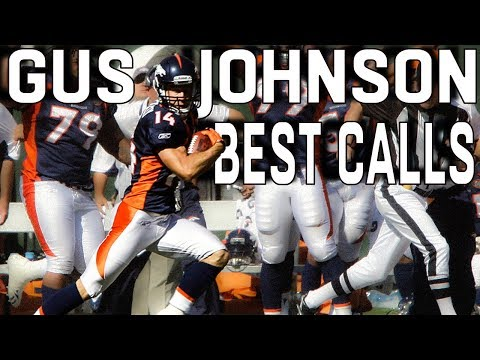 Gus Johnson's BEST NFL Calls!