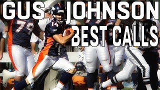 Gus Johnson's BEST NFL Calls!
