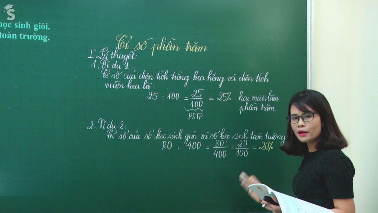 Tỉ số phần trăm – Toán 5 – Giáo viên : Phạm Thị Thu Thủy