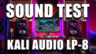 KALI AUDIO LP-8 Studio Monitors SOUND TEST | Audio Comparison with KRK Rokit 8