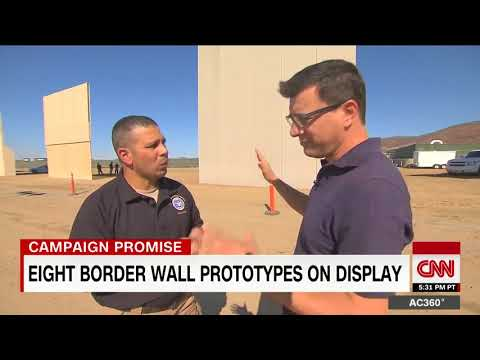 8 prototypes for Trump\'s border wall