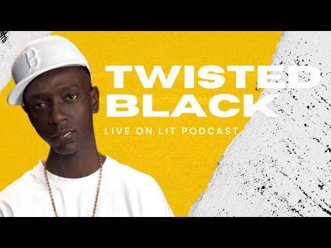 TWISTED BLACK LIVE FROM THE FEDS TALKS EMINEM, JADAKISS & MORE!