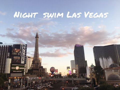 Night swim in Las Vegas - aka best party ever with Kygo