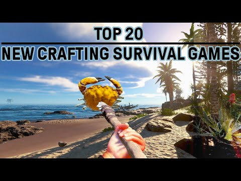 Top 20 Best Open World Survival Games PC | Craft Build & Explore