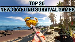 Top 20 Best Open World Survival Games PC | Craft Build & Explore - No Commentary