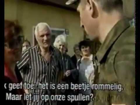 Video e rralle! Viti 1999--Civilet serbe rrethohen nga UCK ne Prizren