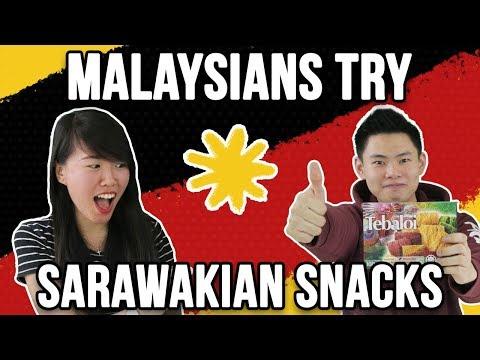 Semenanjungs Try Sarawak Snacks