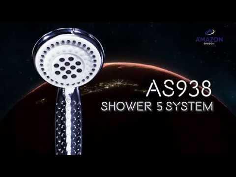 AS-938 ชุดฝักบัวพร้อมสาย