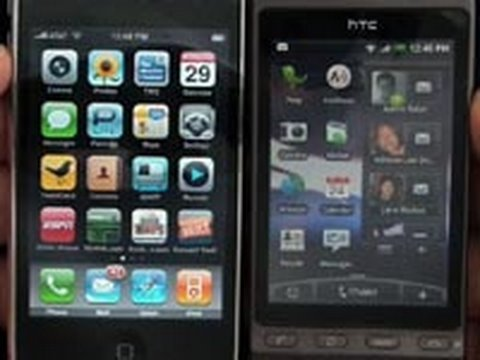 iPhone 3GS vs HTC Hero Part 1