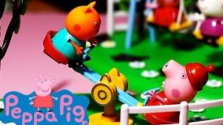 Peppa Pig Seesaw Playground Playset Toy