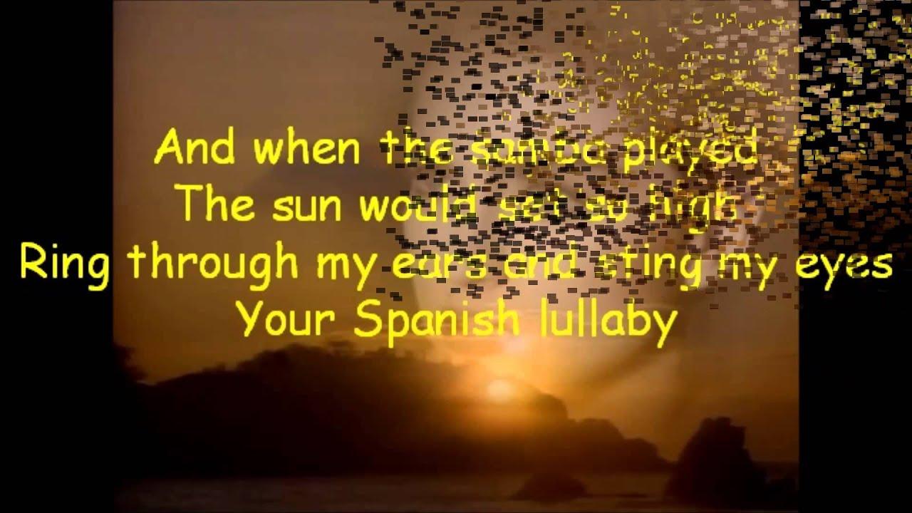 La Isla Bonita Madonna Lyric Video Hd 1080p Youtube