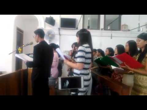 Lagu Pernikahan Kasih By Tedjo....Niko Feat Tanti OMK Santo Yusuf Choir Cirebon...