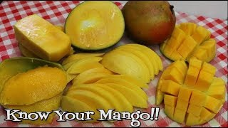 How to Choose the Perfect Mango ~ How to Cut A Mango ~ Pick Your Produce ~ Mangos ~ Noreen's Ki