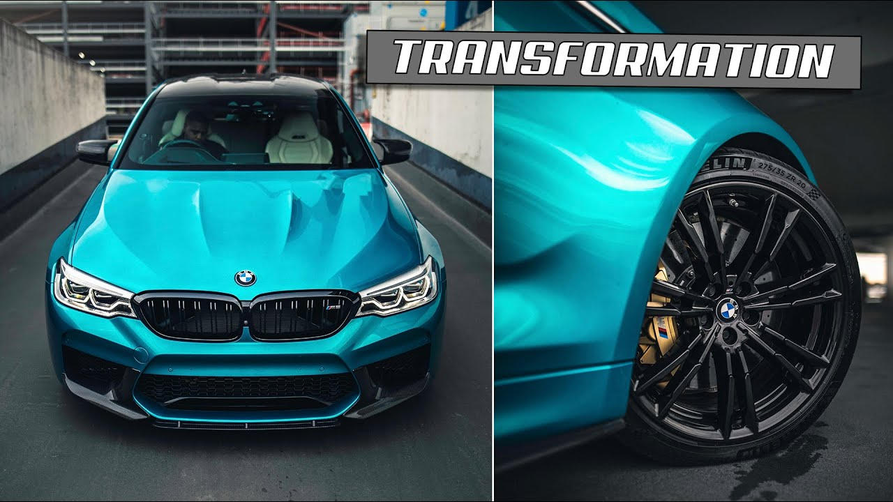 SICKEST!! NEW MODS FOR MY BMW M5 **TRANSFORMED**