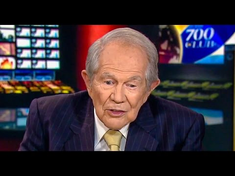 "Pat Robertson: It's ""Macho"" for Trump to Grab Women ""By the Pu$$y"" Without Permission"