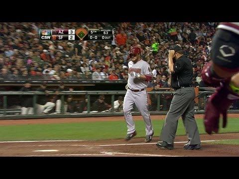 ARI@SF: Miley helps his cause with homer to break tie