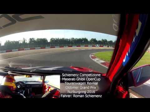 Maserati Ghibli OpenCup Oldtimer Grand Prix Nürburgring 2016 Schiemenz Competizione Roman Schiemenz