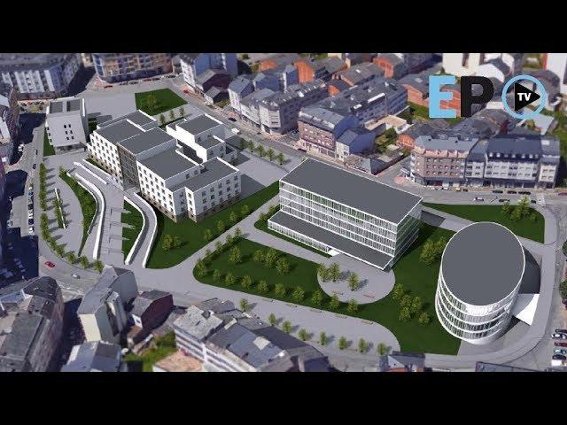 Así será la nueva área sanitaria del Barrio de la Residencia