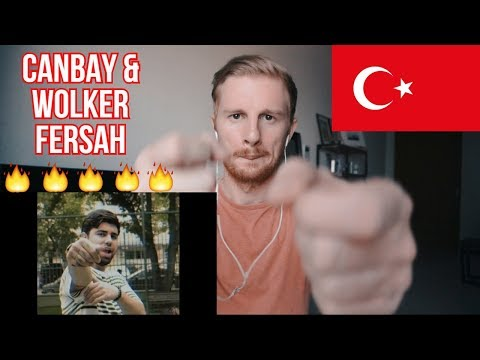 Canbay & Wolker - Fersah (Official Video) // TURKISH RAP REACTION