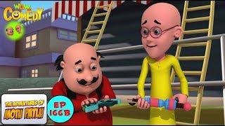 Dr.Jhatka Ka Laser Cutter - Motu Patlu in Hindi - 3D Animated cartoon series for kids - As on Nick