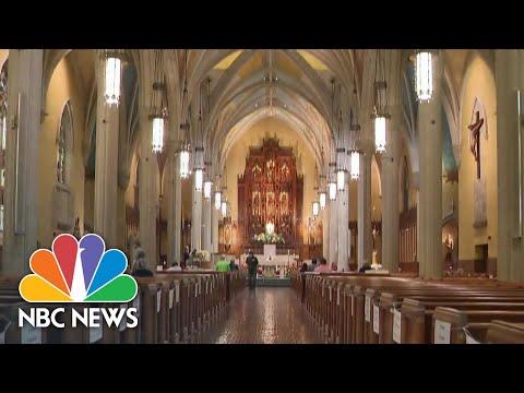 Coronavirus: Some Houses Of Worship Fight To Reopen Doors  NBC Nightly News